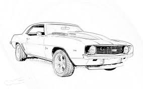 Car Printable Coloring Pages 05