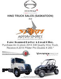 Hino Truck Sales (Saskatoon) | Used Hino Dealership In Saskatoon, SK ... Dallas Hino Truck Dealer Top Achievers Named At Of The Year Awards Auto Moto 2015 Hino 268 For Sale In North York On Serving Toronto Used Expressway Trucks 2006 Ranger Stock No 37348 Japanese Hk Center Delivers 1000th To J Cipas Container Lesher Mack Dealership Sales Service Parts Leasing Flag City Trucks Got Plenty Of Attention At Nampo Show Kuilsrivier Velocity Centers Carson Freightliner Isuzu And
