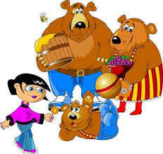 The Family Of Bears Father Mother And Son Vector
