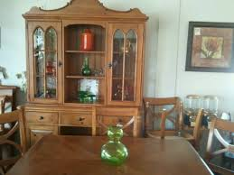Dining Table With 8 Chairs And 2 Leaves Also Available A Matching