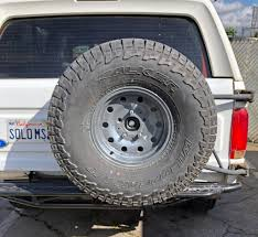 100 Semi Truck Spare Tire Carrier Ford Bronco Dropped Mount