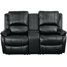 black leather 2 seater recliner sofa stjames me