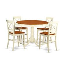 Amazon.com: East West Furniture TRQU5-WHI-W 5 Piece Counter Height ... Jofran Marin County Merlot 5piece Counter Height Table Mercury Row Mcgonigal 5 Piece Pub Set Reviews Wayfair Crown Mark Camelia Espresso And Stool Red Barrel Studio Jinie Amazoncom Luckyermore Ding Kitchen Giantex Pieces Wood 4 Stools Modern Inspiring And Chairs Target Tables For Dimeions Style Sets Design With Round Wooden Bar Best Choice Products W Glass Dinette Frasesdenquistacom Hartwell Peterborough Surplus Fniture No Clutter For The