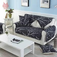 canape blanc noir moderne style blanc noir imprimé canapé couverture courtepointe