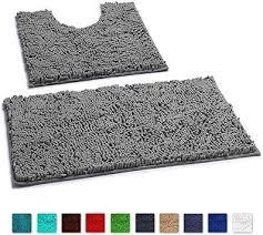 badzubehör textilien set mit 2 badezimmer matten
