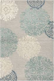 Aqua blue & gray rug This would be Perfect for our master