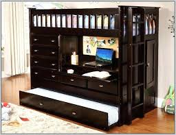 Bunk Bed Desk Combo Plans by Desk Bunk Bed With Dresser And Desk Plans Loft Bed With Desk And