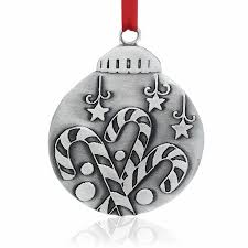 Donner And Blitzen Christmas Tree Ornaments by Old Forge Pewter Ornaments Wendell August