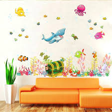 Kids Wall Art Room Decor Ideas Top Awesome Colour Block Painting For That Makes Them Happy