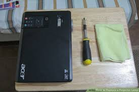 how to replace a projector l 9 steps with pictures wikihow