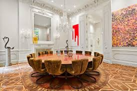 100 William Georgis Architect Upper East Side Mansion With Herms Leather Walls Returns For 5M