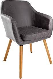 riess ambiente de design armlehnstuhl supreme vintage grau beine aus massivholz esszimmerstuhl esszimmer sessel mit armlehnen