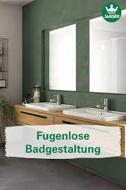 fugenloses design für böden und wände auch im badbereich