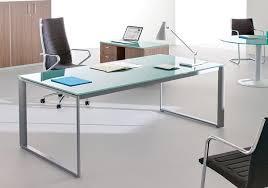 bureau verre trempé selection de votre bureau direction design