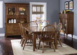 rustic farmhouse dining table and chairs new lighting warm and