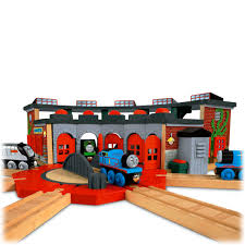 Thomas The Train Tidmouth Shed Instructions by Mattel Y4366 Deluxe Roundhouse Thomas U0026 Friends Wooden Railway
