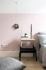 eine rosa wand für das schlafzimmer neue bettwäsche aus leinen