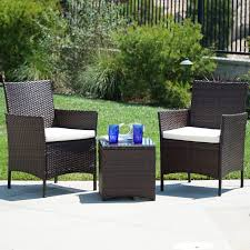 Amazon.com : Belleze 3pc Outdoor Patio Furniture Wicker Cushion Seat ... Glass Top Alinum Frame 5 Pc Patio Ding Set Caravana Fniture Outdoor Fniture Refishing Houston Powder Coaters Bistro Beautiful And Durable Hungonucom Cbm Heaven Collection Cast 5piece Outdoor Bar Rattan Pnic Table Sets By All Things Pvc Wicker Tables Best Choice Products 7piece Of By Walmart Outdoor Fniture 12 Affordable Patio Ding Sets To Buy Now 3piece Black Metal With Terra Cotta Tiles Paros Lounge Luxury Garden Kettler Official Site Mainstays Alexandra Square Walmartcom The Materials For Where You Live