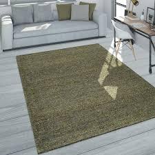 teppich wohnzimmer kurzflor modernes meliertes design in dunkelgrau grün grau