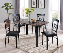 Rhia Dining Set, Black Metal & Brown Wood Coast To Woodbridge 5pc Ding Room Set With Metal Frame Chairs Astonishing Slate Legs Rooms Ira 5 Piece Black Brown Wood Top Microfiber Seat Transitional Rectangular Table 4 Vintage Genuine Leather Padded Cooper Ii Industrial Counter Height Sage Green Suede Cushion Meridian 779greyc Giselle Series Contemporary Velvet Chair Of 2 Silver Dinette 732greyc Juno China Replica Design Gold Cafe Sets Fniture And Diy Agreeable Trent Used Unopened Black Metal Framed Ding Room Chairs For