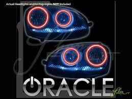 05 10 Volkswagen Jetta GTI LED Halo Rings Head Fog Lights Bulbs