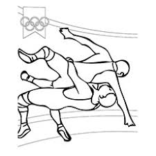 Top 10 Wrestling Coloring Pages For Your Little e