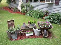 Prissy Inspiration Rustic Yard Decor 124 Best Outdoor Images On Pinterest Backyard Ideas