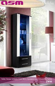 wohnzimmer vitrine glasvitrine schaukasten glasregal neo iv