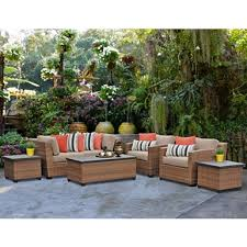 cynthia wicker outdoor seating set set of 5 kirklands