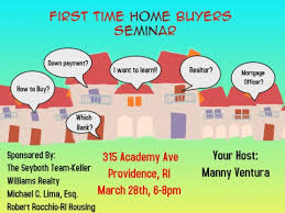 First Time Homebuyer Education Class
