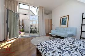 dachgeschoss terrasse atelierfenster moderne 2 zimmer
