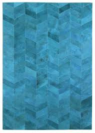 Interesting Modern Premium Leather Hide Rugs Gallery Herringbone Rug Made In Argentina And Carpet Blue D