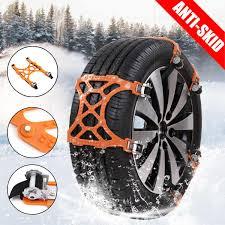 100 Snow Chains For Trucks Car Tire Anti Slip Universal Cars Wheels Tyre