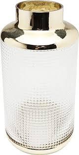 kare design vase la noble 30cm glasvase für das wohnzimmer dekoratives accessoire aus glas verschiedene größen erhältlich h b t 30x15x15cm