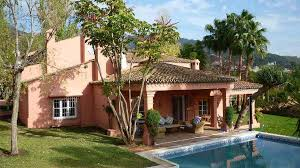 A Nice Rustic Style Family House Situated In An Established Residential Area Of Marbella Close