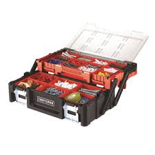 Craftsman 18 In. Plastic Toolbox 9.4 In. W X 5.71 In. H Black - Ace ...