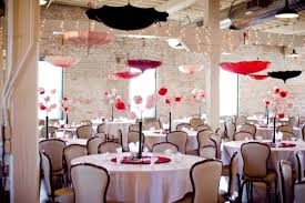 décoration du plafond du mariage