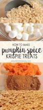 Calories In Libbys Pumpkin Roll by Pumpkin Spice Krispie Treats A Festive Treat In 10 Minutes