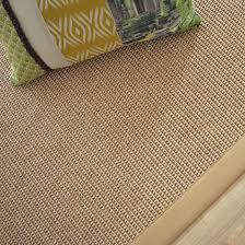 tapis coton tisse a plat tapis tissé plat lombok naturel ganse coton beige 140 x 200 cm