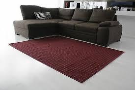 teppich trafalgar wohnzimmer grau rot blau braun kurzflor 200x300 200x400 ua
