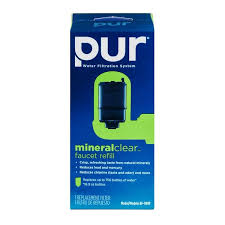 Pur Faucet Water Filter Refill by Pur Water Filtration System Mineral Clear Faucet Refill 1 0 Ct