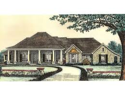 Large One Story Homes by Large One Story House Plan House Design Plans