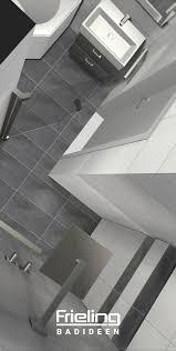 das bad in l form ansicht mit blick in die dusche 8 qm