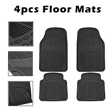 100 Custom Floor Mats For Trucks New Car For All Weather Rubber 4pc Set Semi Fit