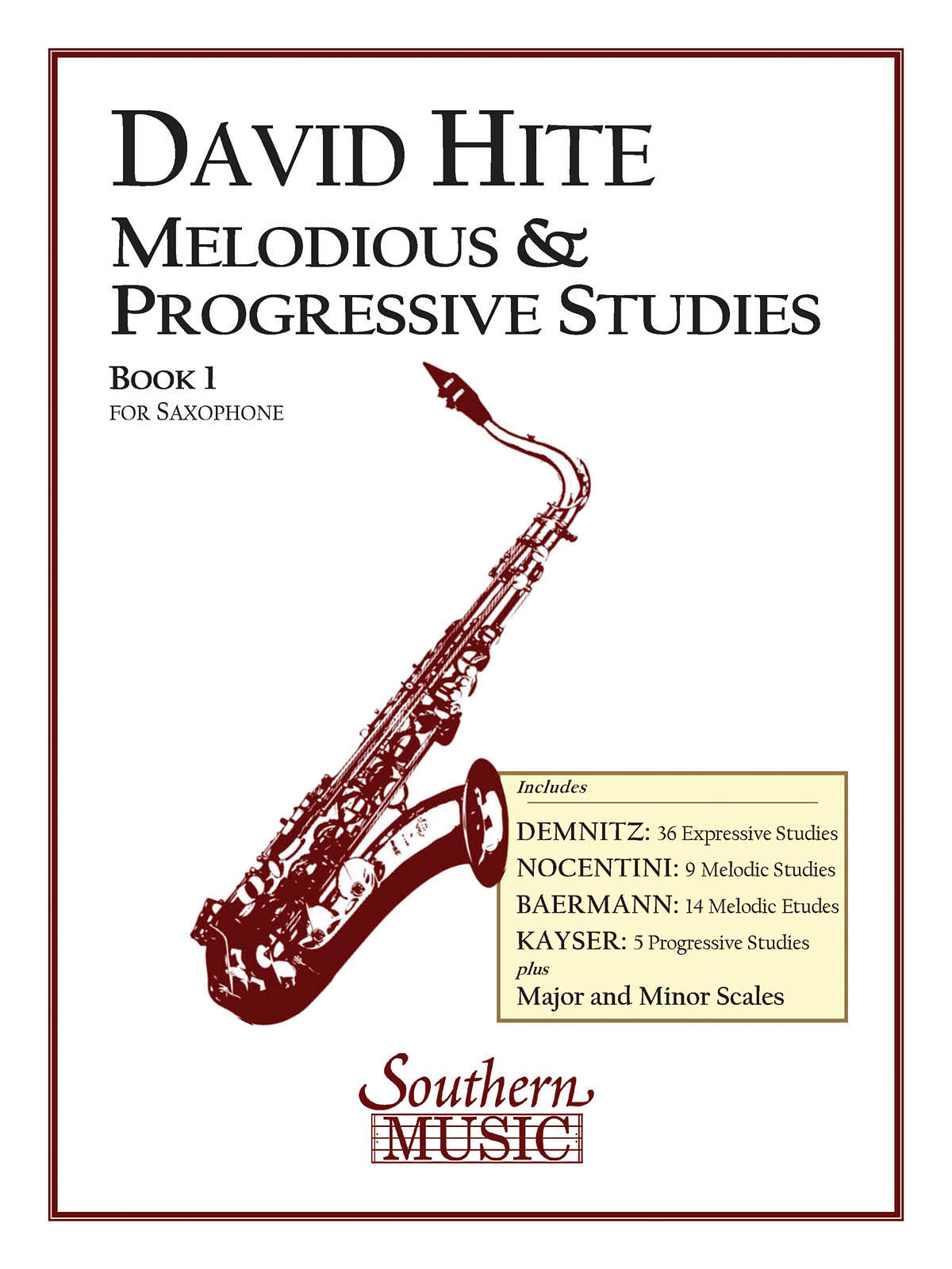 Melodious and Progressive Studies, Book 1 - Saxophone