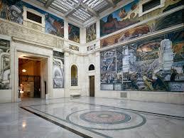 Dave Beaton Floor Sanding by Detroit Industry Murals Detroit Institute Of Arts Museum