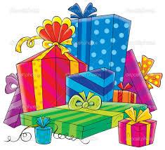 Pile Birthday Presents