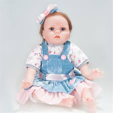 22 Handmade Silicone Real Looking Reborn Baby Smile Girl Doll