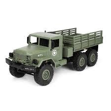 100 Military Truck WPL B16 116 24G 6WD OffRoad RC Rock Crawler DIY