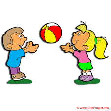 Boy Outside Playing In Florida Clipart